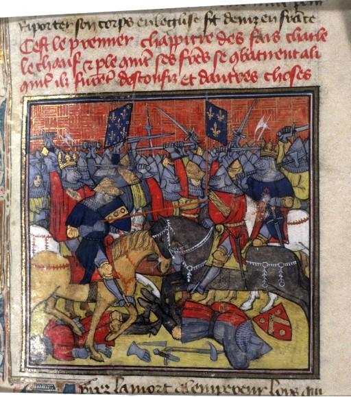 841 CE, Fonetnoy, Next to Auxerre, France. 40,000 Killed. Catastrophe Happens: the War of Brothers, the Bruederkrieg, Brought 11 Centuries of European Strife, And Ten Centuries of Rampaging Islamists
