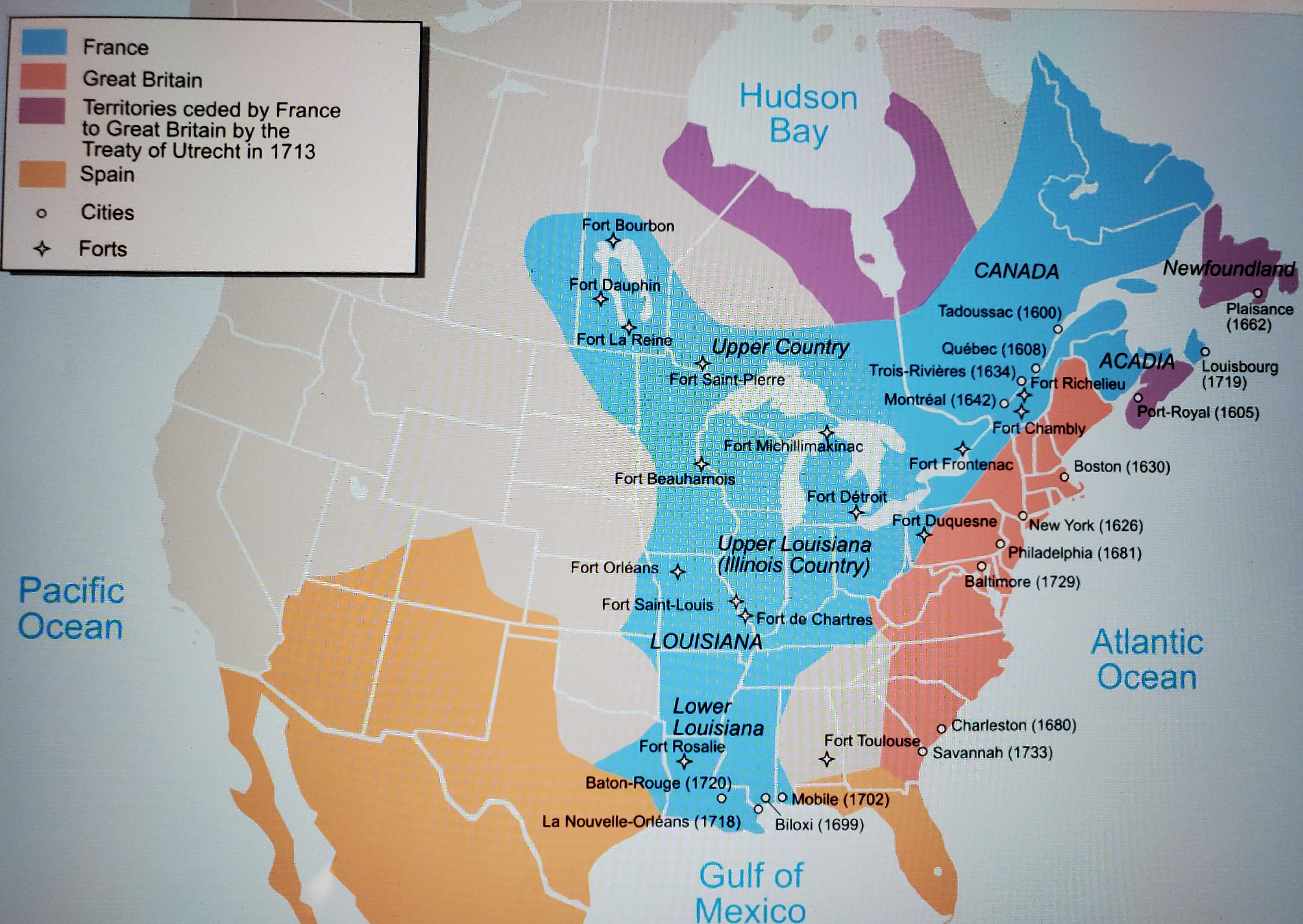 When France Controlled North America